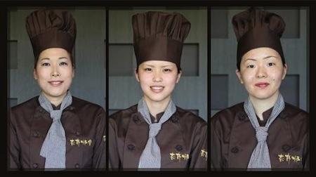 鉄板焼レストラン「杏布炉舎」のスタッフたち!