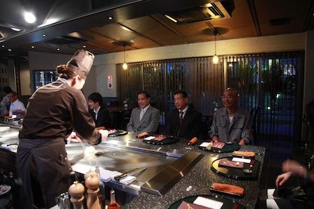 熊本県を代表する本格鉄板焼レストラン!