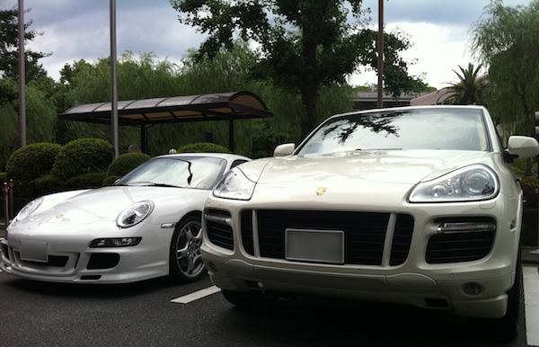 Porscheとフカヒレ姿煮込み・・・