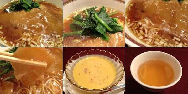 フカヒレ姿煮込み湯麺