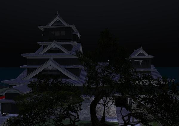 400年前の熊本城 vs 仮想現実世界の熊本城!!