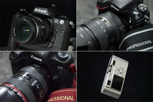 取材に使ってきた歴代のカメラたち!