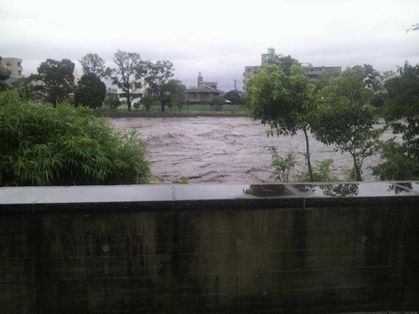 熊本市白川流域周辺に避難指示!
