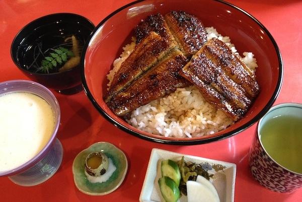 日本鰻の代用品はない!