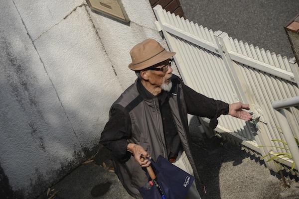 老人との対話と健康チェック・・・私流