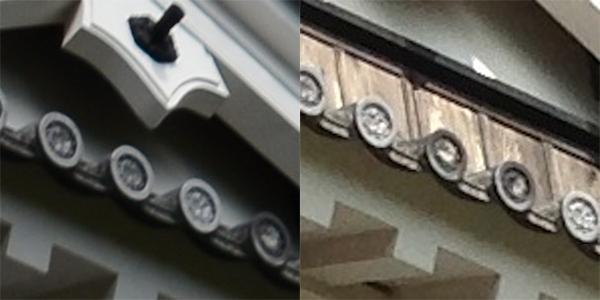 一眼レフカメラとiPhone5の映像比較