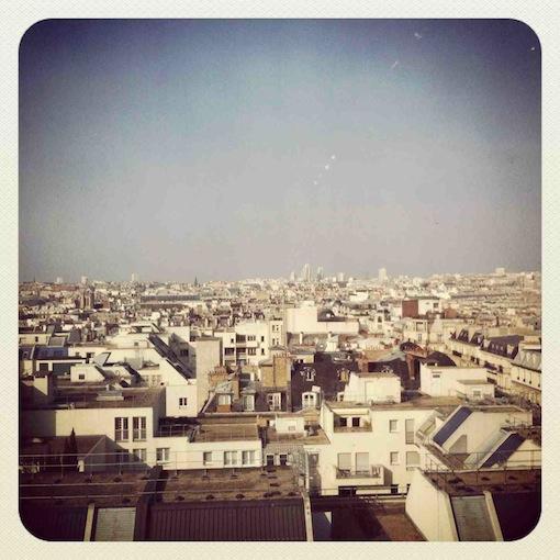 パリ:高いところから