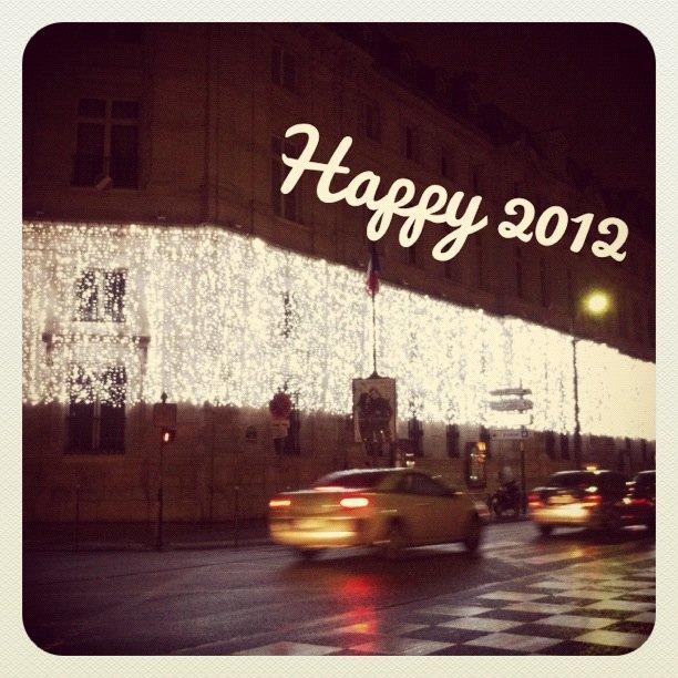 パリ:新年
