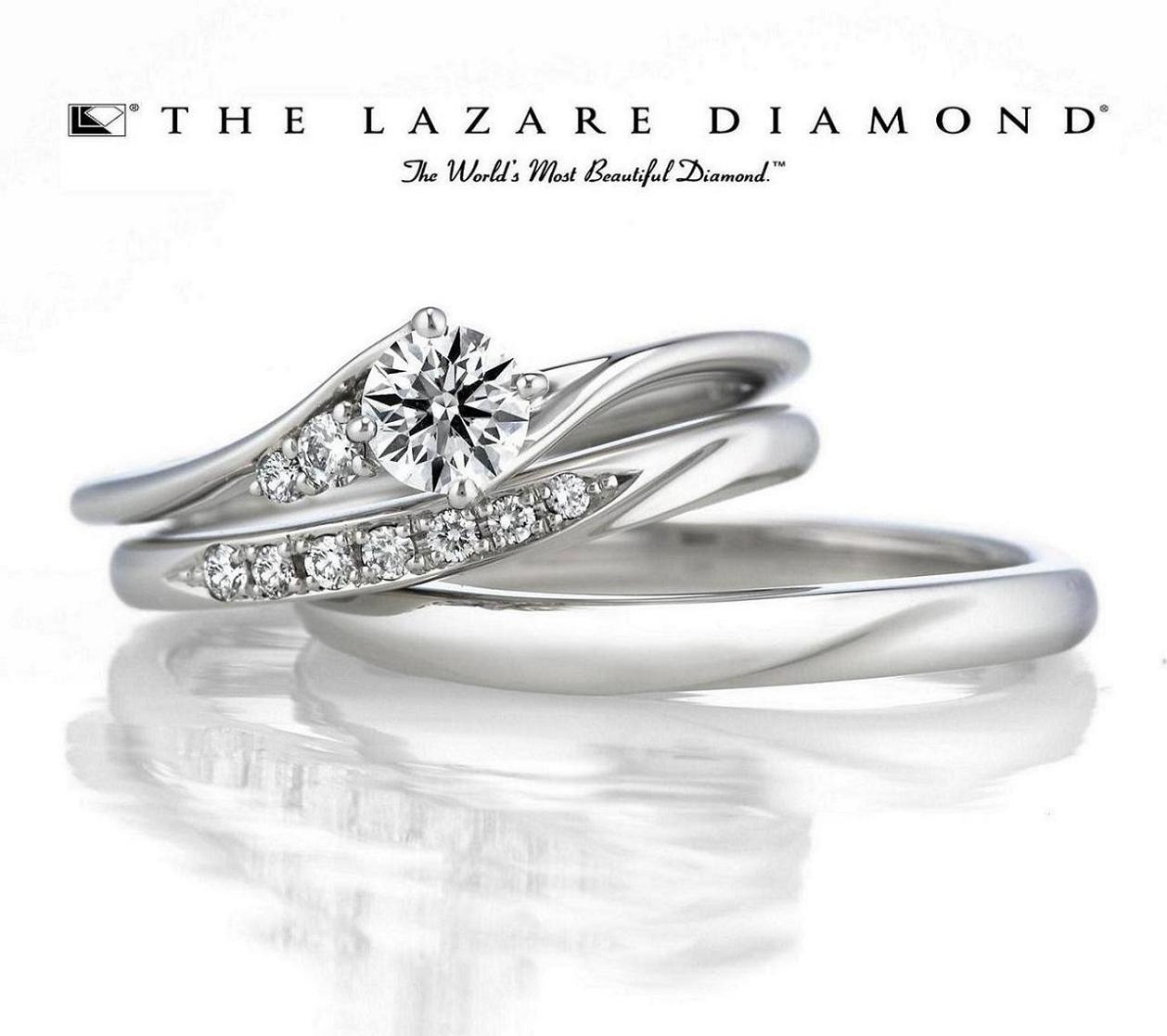 ラザールダイヤモンド新作エンゲージ−Galaxy