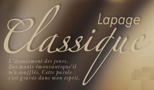 LAPAGE Classique Collection